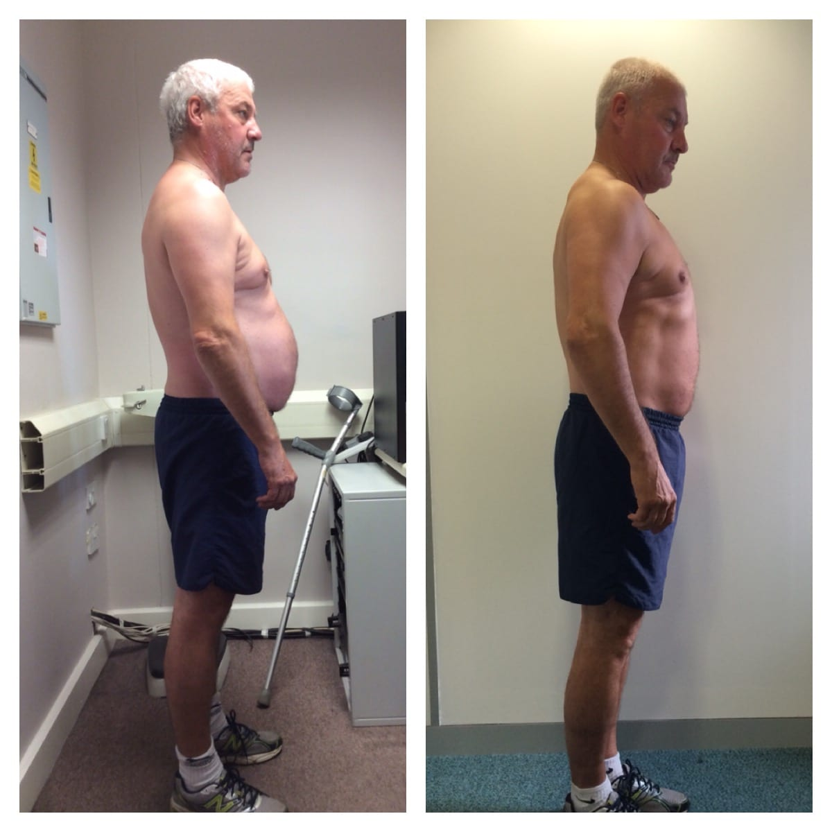 Jerry weight loss progress Primal Life Gym Lincoln 2