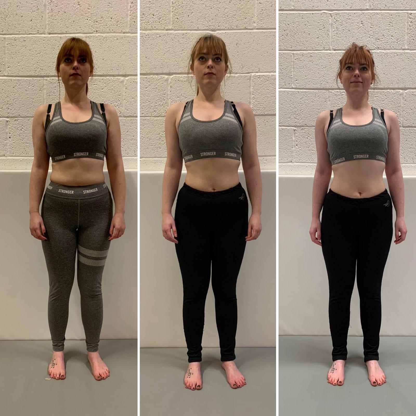 Sarah weight loss progress Primal Life Gym Lincoln 3