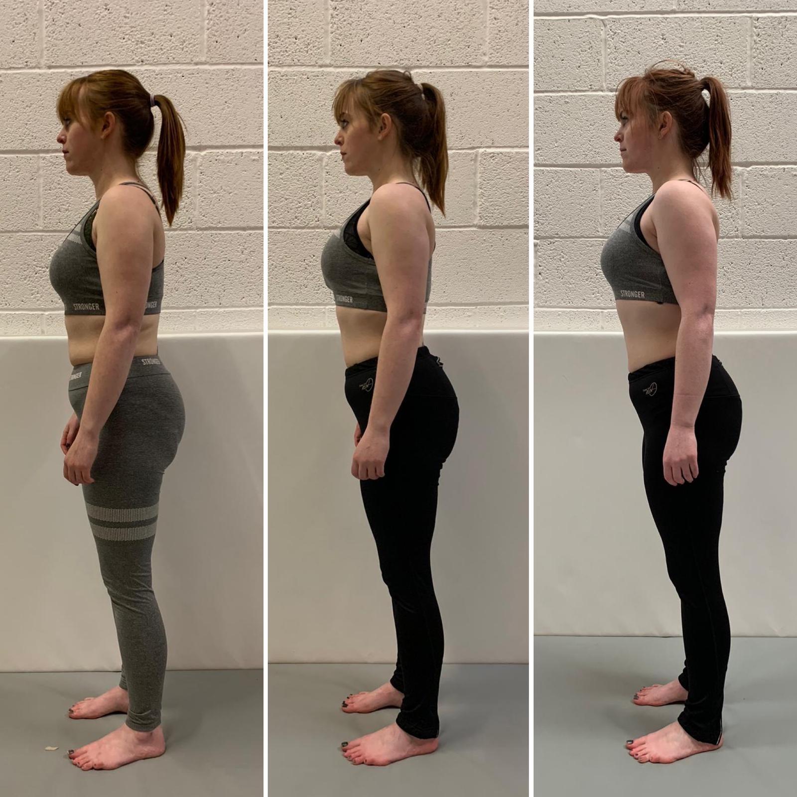 Sarah weight loss progress Primal Life Gym Lincoln