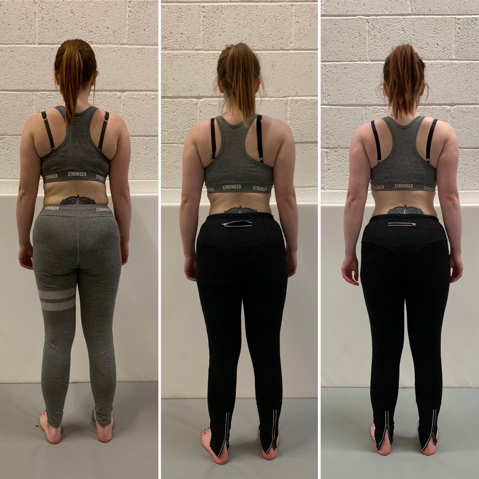 Sarah weight loss progress Primal Life Gym Lincoln 2